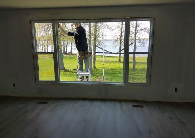 replacing a huge window