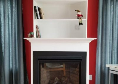 Lovely Gas Fireplace